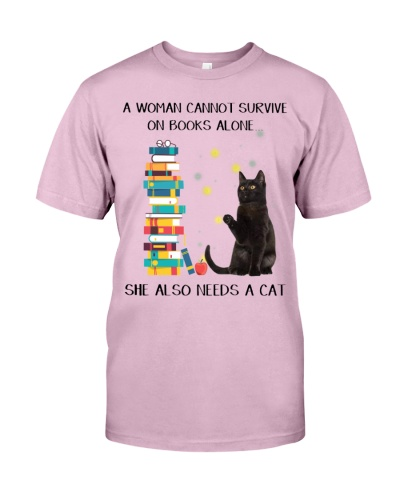A Woman Cannot Survive On Books Alone