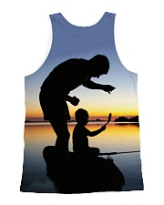 Like Father Like Son Fishing LA03 All-over Unisex Tank back