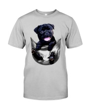 Cute Pug TT99 Classic T-Shirt front