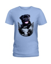 Cute Pug TT99 Ladies T-Shirt thumbnail