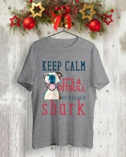 Keep Calm It's A Pitbull HT10 Classic T-Shirt lifestyle-holiday-crewneck-front-2