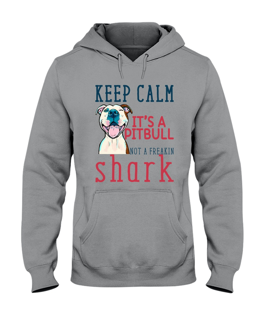 Keep Calm It's A Pitbull HT10 Hooded Sweatshirt