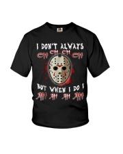 Halloween Horror Movie Killer Tshirt Youth T-Shirt thumbnail