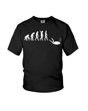 Evolution Of Man Funny Scuba Diving T Shirt Gift Youth T-Shirt thumbnail