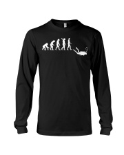 Evolution Of Man Funny Scuba Diving T Shirt Gift Long Sleeve Tee thumbnail