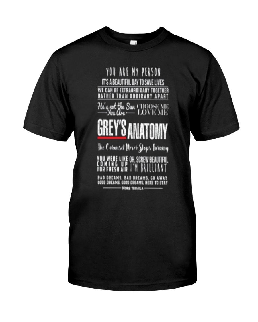 greys anatomy Classic T-Shirt