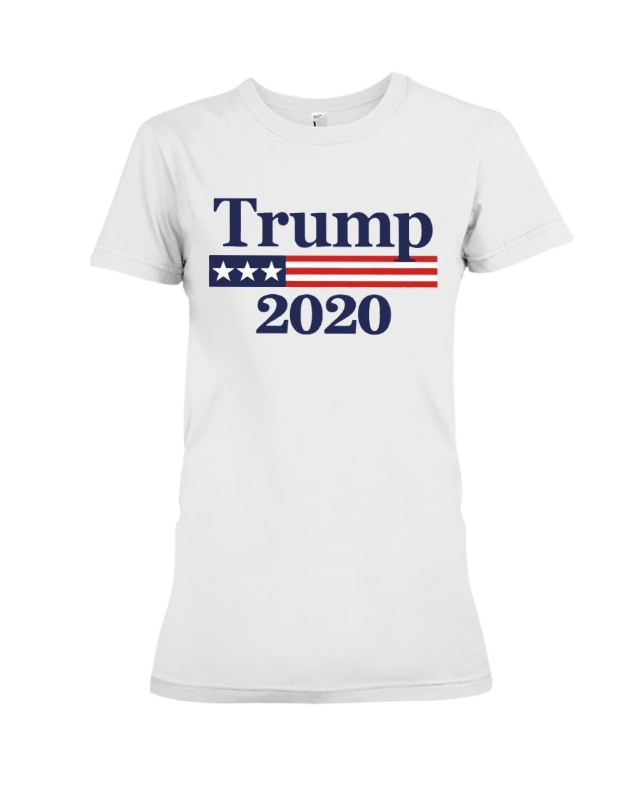 Best Trump 2020 T-Shirts Premium Fit Ladies Tee