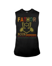 Fathor Like A Dad Just Way Mightier Hands Sleeveless Tee thumbnail