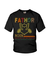 Fathor Like A Dad Just Way Mightier Hands Youth T-Shirt thumbnail
