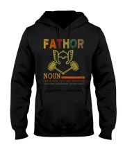 Fathor Like A Dad Just Way Mightier Hands Hooded Sweatshirt thumbnail