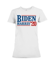 Biden Harris 2020 T Shirt Premium Fit Ladies Tee thumbnail