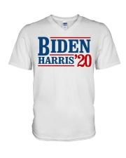 Biden Harris 2020 T Shirt V-Neck T-Shirt thumbnail