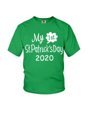 My First ST Patricks Day T Shirt Youth T-Shirt front