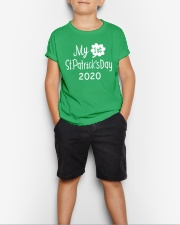 My First ST Patricks Day T Shirt Youth T-Shirt lifestyle-youth-tshirt-front-1