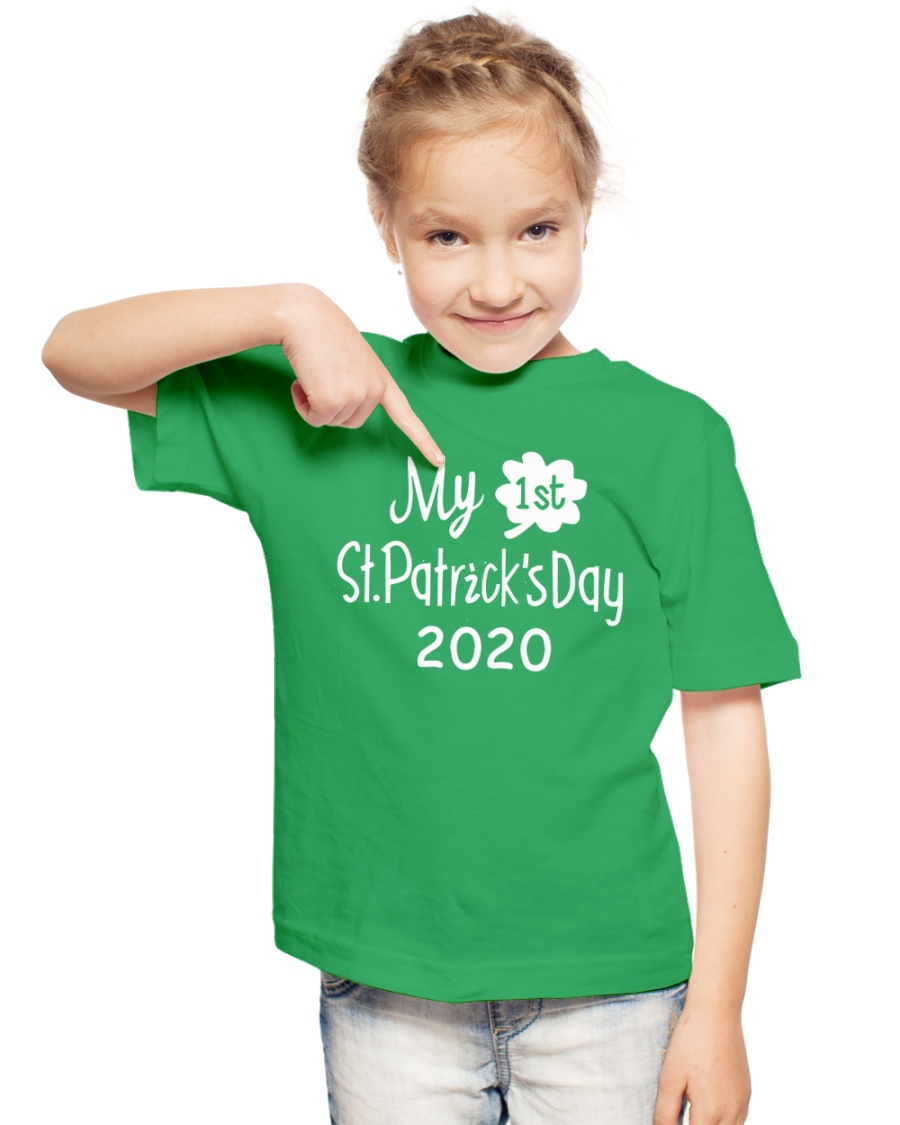 My First ST Patricks Day T Shirt Youth T-Shirt