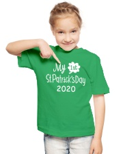 My First ST Patricks Day T Shirt Youth T-Shirt lifestyle-youth-tshirt-front-2