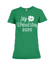 My First ST Patricks Day T Shirt Premium Fit Ladies Tee tile