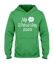 My First ST Patricks Day T Shirt Hooded Sweatshirt tile