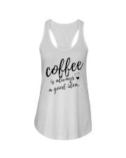 Coffee is Always A Good Idea Ladies Flowy Tank thumbnail