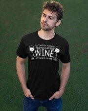 Wine T Shirt Classic T-Shirt apparel-classic-tshirt-lifestyle-front-43