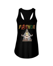 Fat Thor Drink Beer T Shirt Ladies Flowy Tank thumbnail