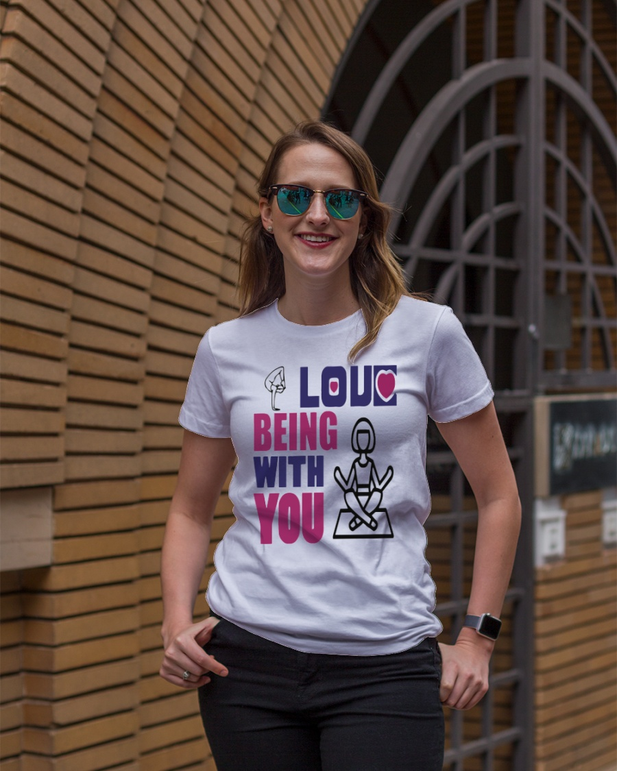 Funny Yoga T Shirt Premium Fit Ladies Tee