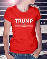 Trump 2020 Promises Made Promises Kept T Shirt Premium Fit Ladies Tee lifestyle-women-crewneck-front-7