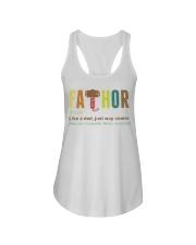 Fathor T Shirt Ladies Flowy Tank thumbnail