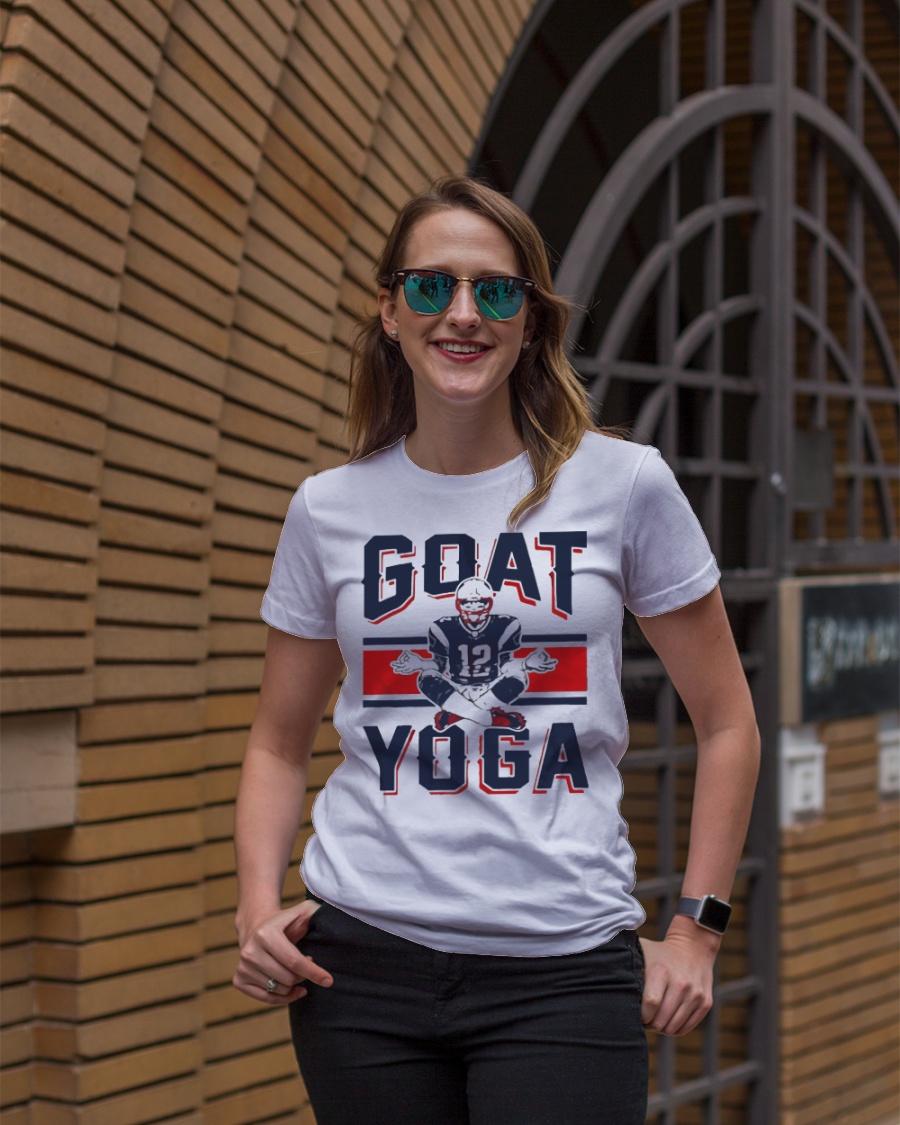 GOAT Yoga T-Shirt Premium Fit Ladies Tee