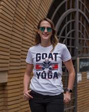 GOAT Yoga T-Shirt Premium Fit Ladies Tee lifestyle-women-crewneck-front-2