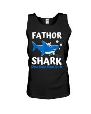 Fathor Shark Shirt Father's Day Gift Unisex Tank thumbnail