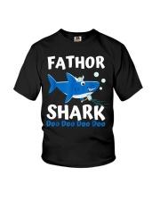 Fathor Shark Shirt Father's Day Gift Youth T-Shirt thumbnail