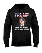 2020 The Sequel Make Liberals Cry Again T-Shirt Hooded Sweatshirt thumbnail
