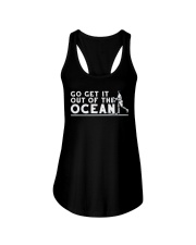 Go Get It Out of the Ocean T Shirt Ladies Flowy Tank thumbnail
