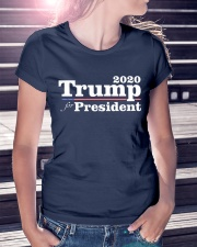 Trump for President 2020 T-Shirt Premium Fit Ladies Tee lifestyle-women-crewneck-front-7