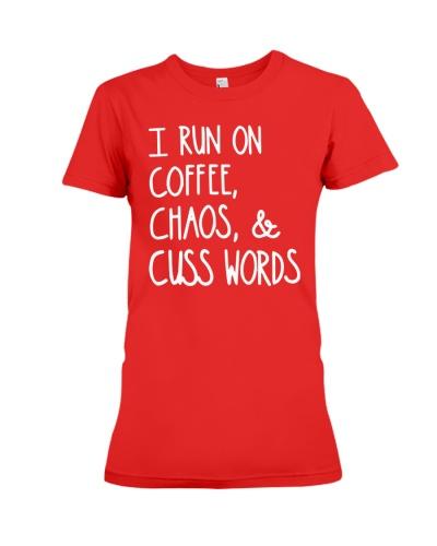 I Run On Coffee T Shirt