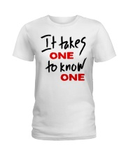 Official Takes One to Know One T Shirt Ladies T-Shirt thumbnail