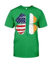 American flag St Patricks day 2020 T Shirt Classic T-Shirt front