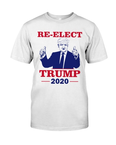 Re Elect Trump 2020 T Shirts