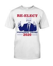 Re-Elect President Trump 2020 T Shirt Classic T-Shirt thumbnail