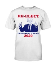 Re-Elect President Trump 2020 T Shirt Premium Fit Mens Tee thumbnail
