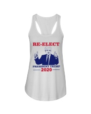 Re-Elect President Trump 2020 T Shirt Ladies Flowy Tank thumbnail