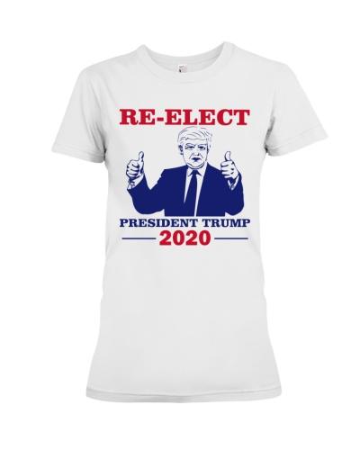 Re-Elect President Trump 2020 T Shirt
