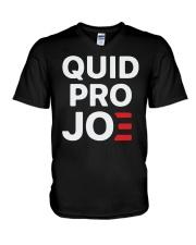 Quid Pro Joe T Shirt V-Neck T-Shirt thumbnail