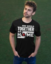 One World Together At Home Shirt Classic T-Shirt apparel-classic-tshirt-lifestyle-front-43