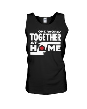 One World Together At Home Shirt Unisex Tank thumbnail