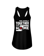 One World Together At Home Shirt Ladies Flowy Tank thumbnail