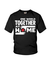 One World Together At Home Shirt Youth T-Shirt thumbnail