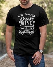 Wine T Shirt Classic T-Shirt apparel-classic-tshirt-lifestyle-front-53