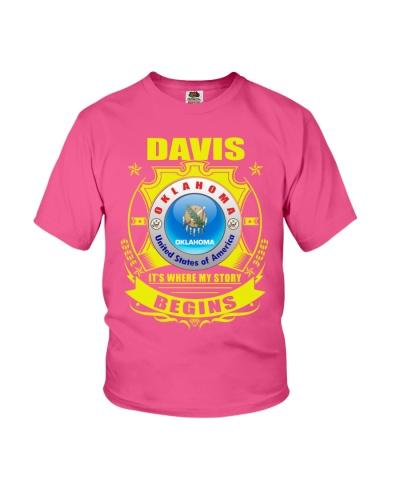 I love Davis-OK gifts TShirt